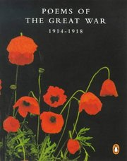 Cover of Poems of the Great War