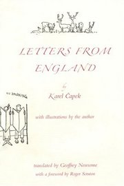 Cover of Karel Capek: Letters from England