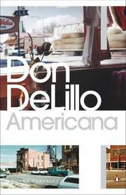 Cover of Don DeLillo: Americana