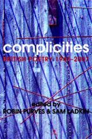 Cover of Robin Purves & Sam Ladkin: Complicities