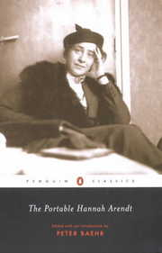 Cover of Hannah Arendt, Peter R. Baehr (EDT): The Portable Hannah Arendt