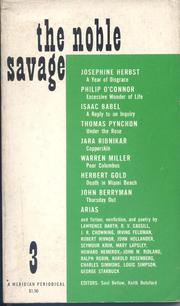 Cover of Saul Bellow: The Noble Savage