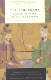 Cover of Babur, Salman Rushdie (INT), Wheeler M. Thackston: The Baburnama