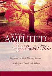 Cover of Amplified Pocket-thin New Testament