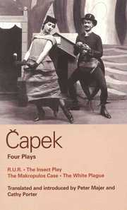 Cover of Karel Capek: Capek Four Plays