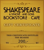 Cover of shakes.cz: Gift Certificate