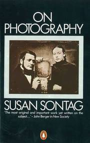 Cover of Susan Sontag: On Photography