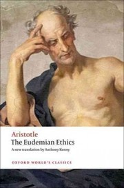 Cover of Aristotle: The Eudemian Ethics