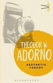 Cover of Theodor W. Adorno: Aesthetic Theory