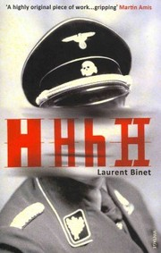 Cover of Laurent Binet: HHhH