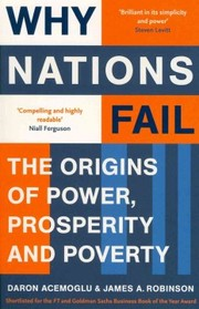 Cover of Daron Acemoglu, James A. Robinson: Why Nations Fail