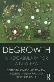Cover of Degrowth