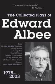 Cover of Edward Albee: Collected Plays of Edward Albee
