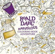 Cover of Roald Dahl's Marvellous Colouring-Book Adventure