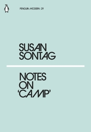 Cover of Susan Sontag: Notes on Camp