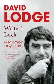 Cover of David Lodge: Writer's Luck