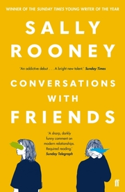 Cover of Sally Rooney: Conversations with Friends