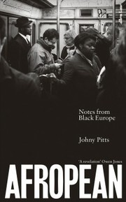 Cover of Johny Pitts: Afropean