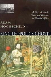 Cover of Adam Hochschild: King Leopold's Ghost