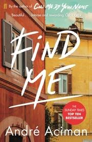 Cover of Andre Aciman: Find Me
