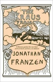 Cover of Jonathan Franzen: Kraus Project
