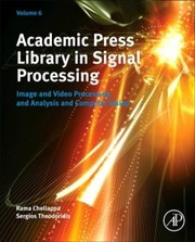 Cover of Academic Press Library in Signal Processing, Volume 6