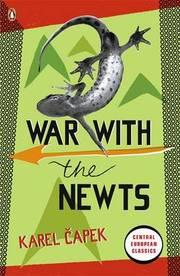 Cover of Karel Capek: War with the Newts