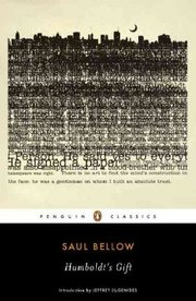 Cover of Saul Bellow, Jeffrey Eugenides (INT): Humboldt's Gift