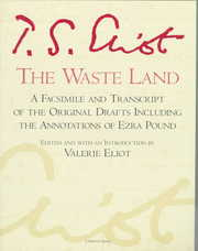 Cover of T. S. Eliot, Valerie Eliot (EDT): The Waste Land