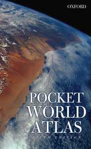 Cover of Oxford Pocket World Atlas