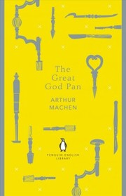 Cover of Arthur Machen: Great God Pan