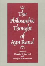 Cover of Philosophic Thought of Ayn Rand