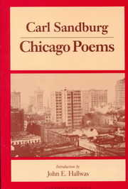 Cover of Carl Sandburg: Chicago Poems