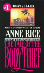Cover of Anne Rice: The Tale of the Body Thief