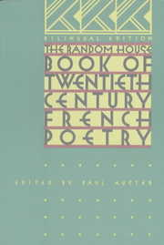 Cover of Paul Auster (EDT): The Random House Book of Twentieth-Century French Poetry