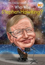 Cover of Jim Gigliotti, Gregory Copeland (ILT): Who Was Stephen Hawking?