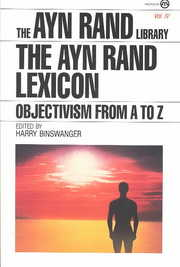 Cover of Harry Binswanger: The Ayn Rand Lexicon