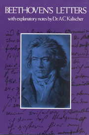 Cover of Ludwig van Beethoven: Beethoven's Letters