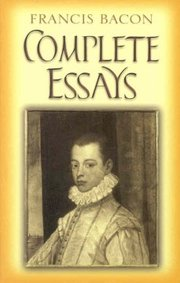 Cover of Francis Bacon, Oliphant Smeaton (INT): Complete Essays