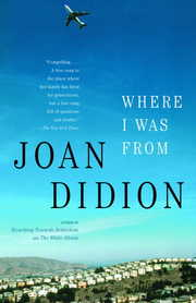 Cover of Joan Didion: Where I Was from