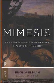 Cover of Erich Auerbach, Willard R. Trask (TRN), Edward W. Said (INT): Mimesis