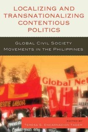 Cover of Localizing and Transnationalizing Contentious Politics
