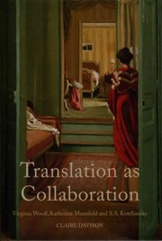 Cover of Claire Davison: Translation as Collaboration