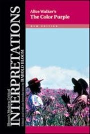 Cover of Harold Bloom (EDT): Alice Walker's The Color Purple