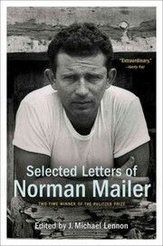 Cover of Norman Mailer, J. Michael Lennon (EDT): Selected Letters of Norman Mailer