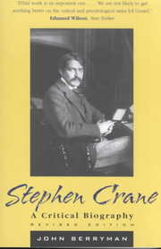Cover of John Berryman: Stephen Crane