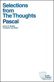 Cover of Blaise Pascal: Selections from the Thoughts