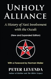 Cover of Peter Levenda, Norman Mailer (FRW): Unholy Alliance