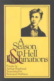 Cover of Arthur Rimbaud: A Season in Hell and Illuminations
