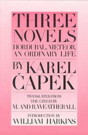 Cover of Karel Capek: Three Novels